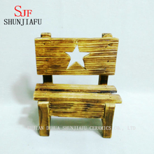 Five-Pointed Star Promotion Cheap Wood Arm Chair