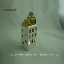 Modern Building Ceramic Candle Holders. /B