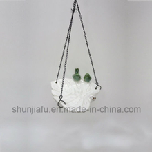 Ceramic Leaf Type Feeder Furniture Ornament