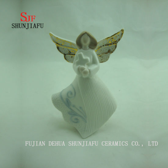 4 PCS / a Variety of Design Ceramic Angel Furnishing Articles/C