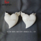 New Design Ceramic Love Shape with Wing, Heart Shape, for Decoration. White