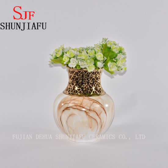 Ceramic Vase, Ideal for Dried Floral Arrangements at Home, Weddings