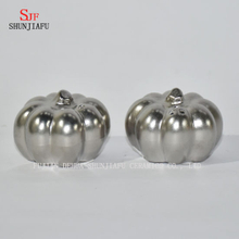 Pumpkin Shape Electroplating Ceramic Pumpkins Ceramic Salt And Pepper Shakers