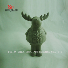 Grey Deer Creamic Furnishing Articles for Coffee Bar/ Home/Office Decoration, Ceramic Article 3 Size/L
