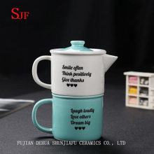 Quick Portable Personal Travel High-Grade Porcelain Tea Cup
