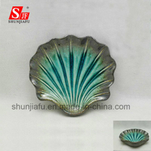 Ceramic Shell Shape Fruit Plate