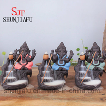 Ceramic Ganesh Incense Burner for Decoration