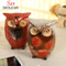 Table Top Sitter Thanksgiving Autumn Home Accent Decoration (Owls)