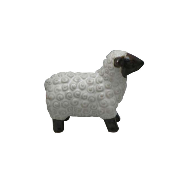 Ceramic Farm Sheep Statue Animal Ornaments
