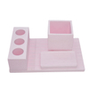 Soap Tray Cotton Swab Box Gypsum Diatom Mud Ceramic Toothbrush Holder Multifunctional gray ACCESSORIES BATHROOM Set