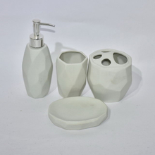 Color Glazed Set Four Bathroom Sanitary Accessory Bathroom Accessories Bathroom Set Ceramic