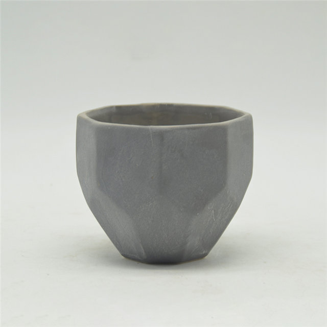 Modern Simple Style black Candle Cup