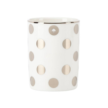 Printed Gold Spots Ceramic Candle Cup
