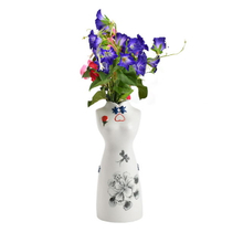 OEM Pure Hand Painting Woman Feature Home Decor Decoration Flower Porcelain Modern Ceramic Wedding Vase