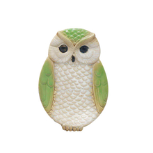 Various Colors Green Ceramic Owl Plate