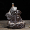 Thread Incense Socket Ceramic Waterfall Reflux Incense Small Ceramic Dragon Backflow Incense Burner
